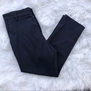 Zara men's navy blue striped pants medium